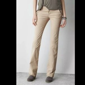 American Eagle Kick Boot style khaki pants